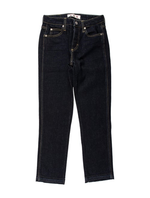 AMO Babe Straight Leg Jeans Blue