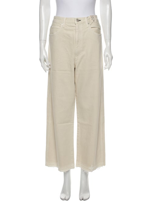 AMO High-Rise Wide Leg Jeans