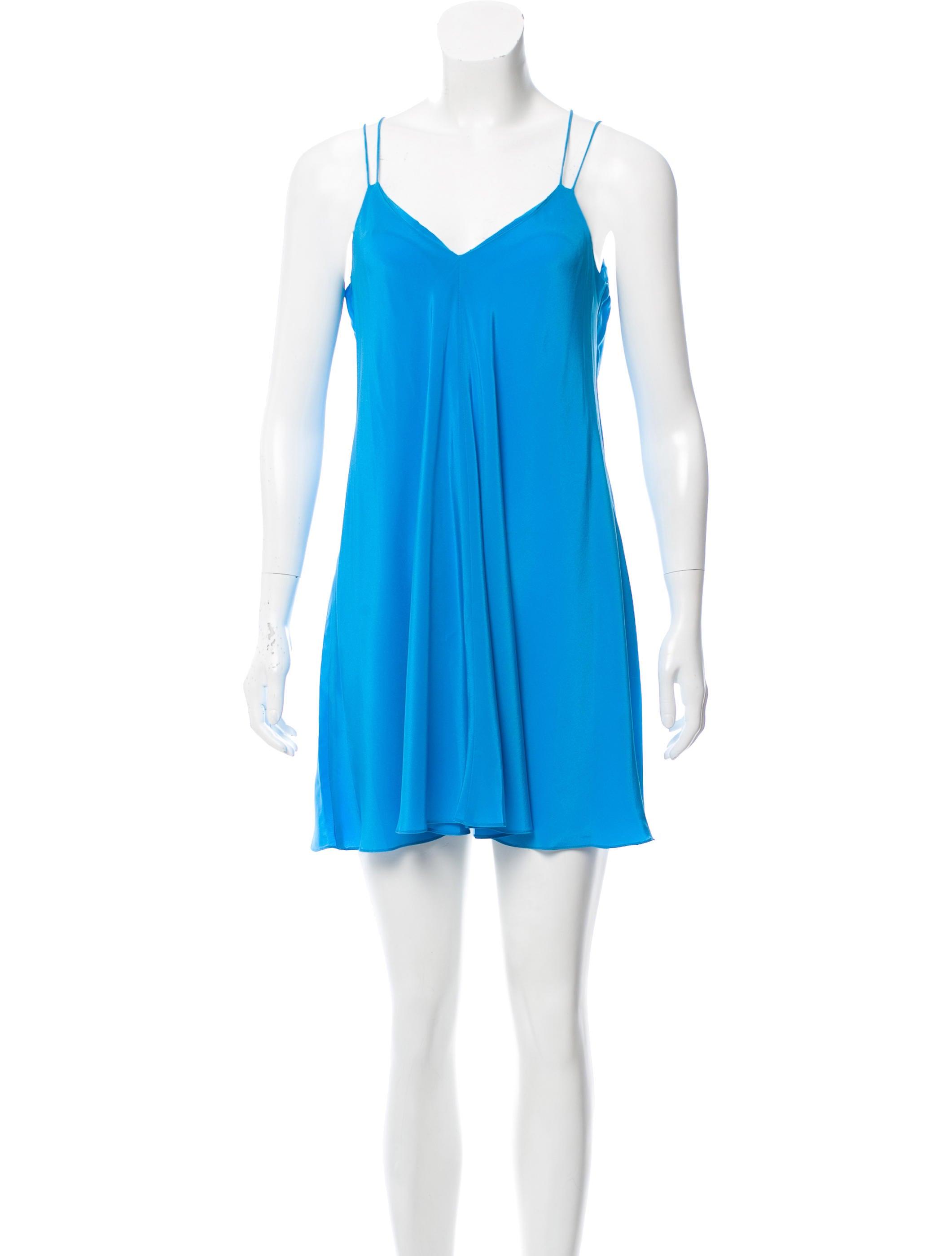 Amanda Uprichard Sleeveless Silk Dress w/ Tags - Clothing ...