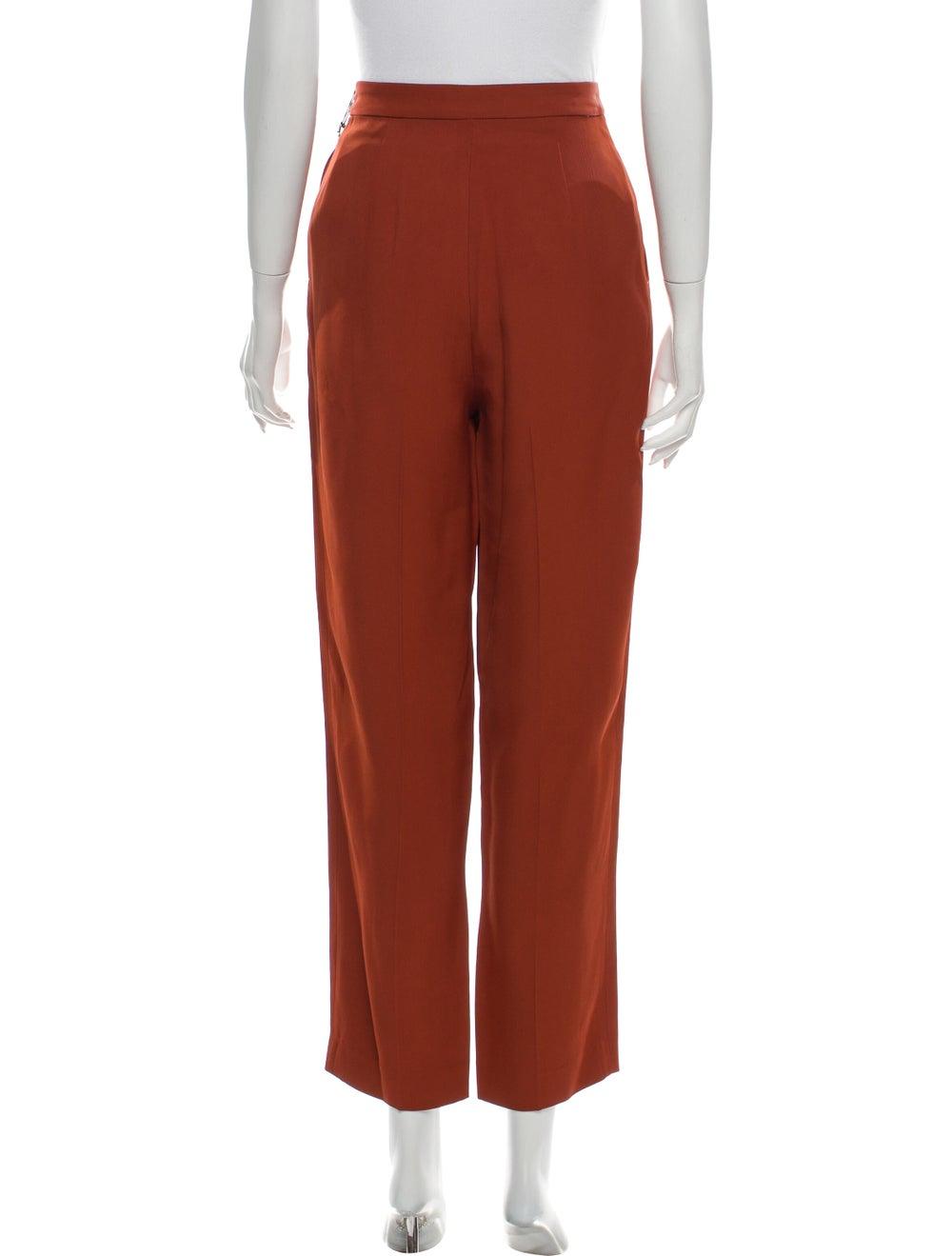 Amur Straight Leg Pants Orange - image 3