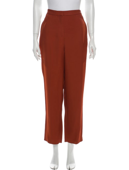 Amur Straight Leg Pants Orange