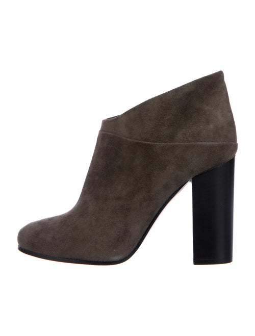 Andrea Gomez Suede Boots Green