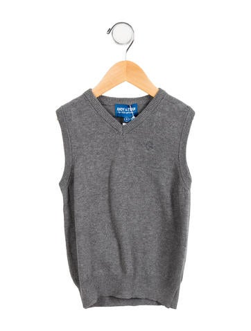 Andy & Evan Boys' Knit Vest w/ Tags None