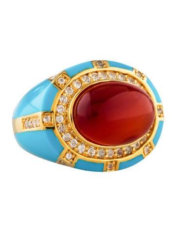 Eclats Carnelian Ring