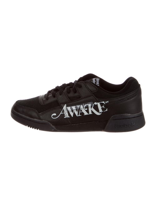 Awake NY x Reebok Printed Sneakers w/ Tags Black