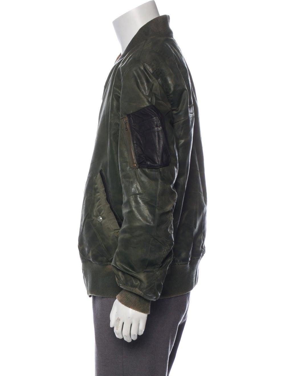 Antonio Barragan Wax Bomber Jacket green - image 2
