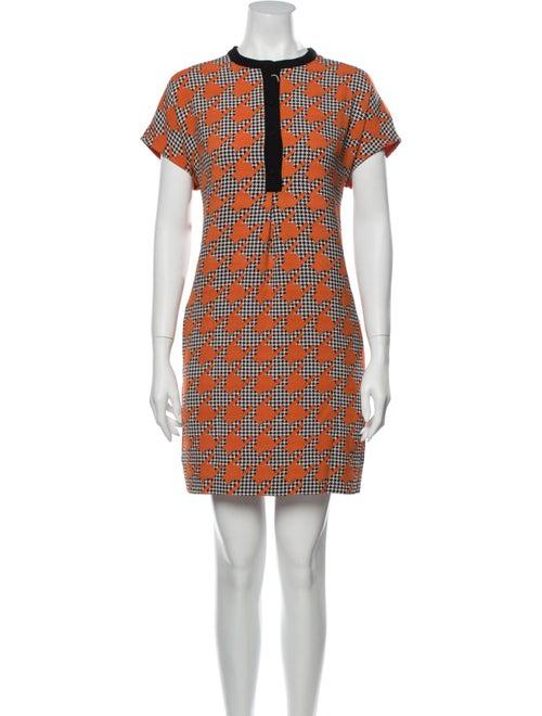 Essentiel Antwerp Printed Mini Dress w/ Tags Orang