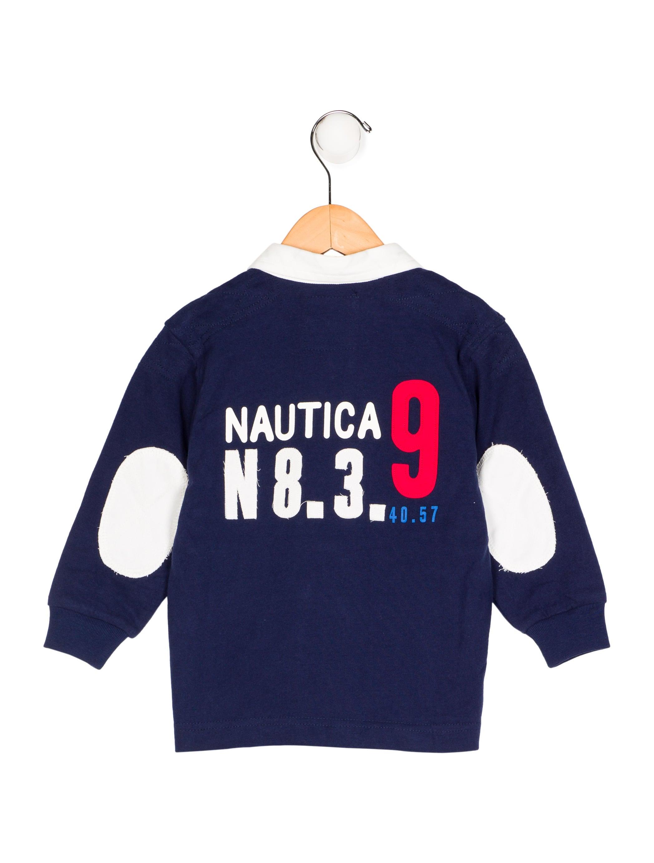 Nautica boys 39 long sleeve polo shirt boys wanuo20003 for Long sleeved polo shirts for boys