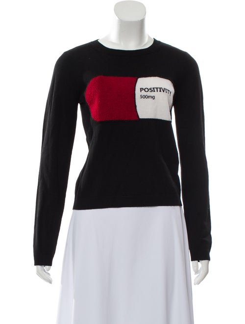 Alice + Olivia Wool Graphic Sweater W/ Tags by Alice + Olivia