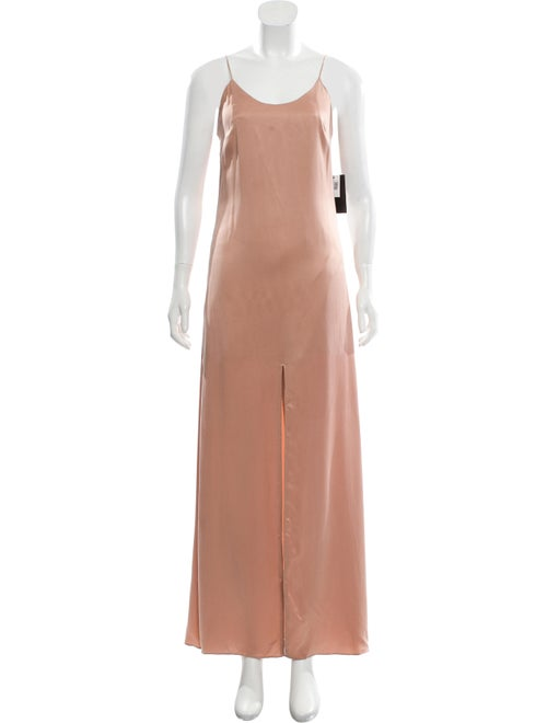 Alice + Olivia Maxi Slip Dress w/ Tags brown