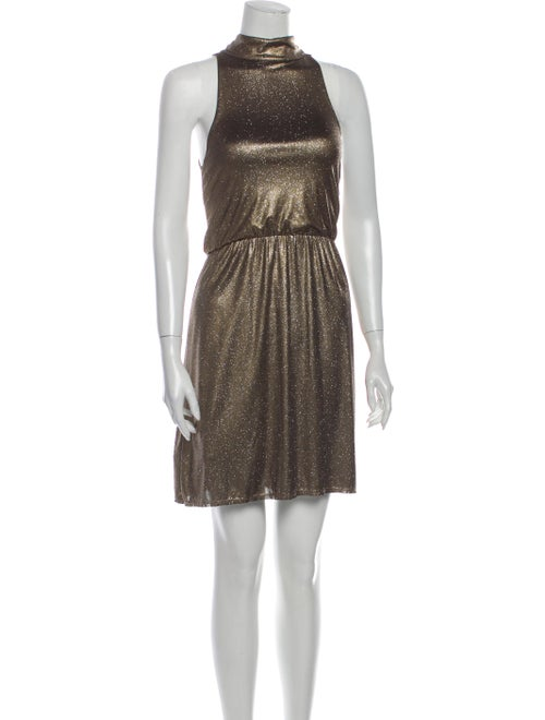 Alice + Olivia Dress Gold - image 1