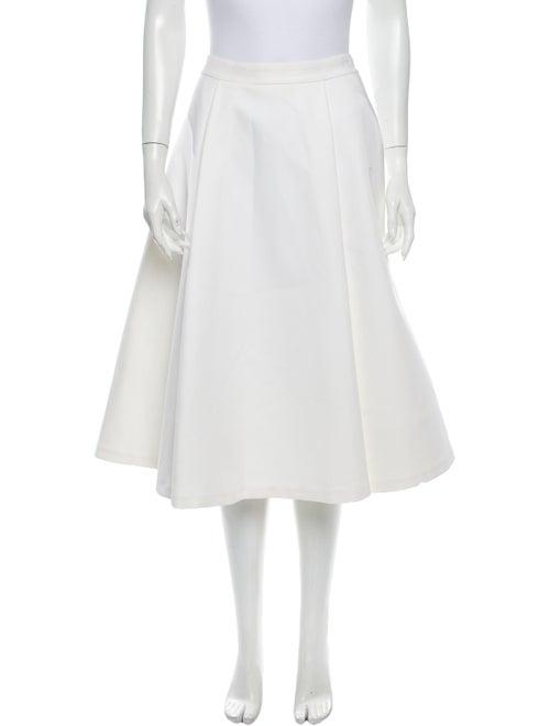 Alice + Olivia Off white skirt