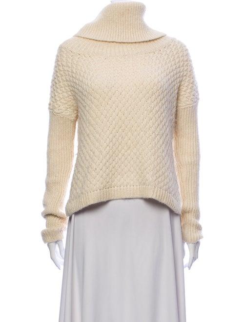 Alice + Olivia Alpaca Turtleneck Sweater