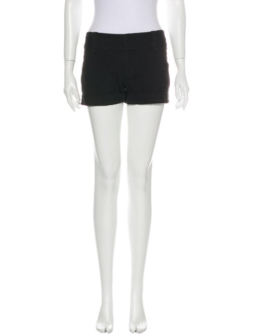 Alice + Olivia Mini Shorts Black