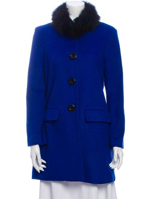 Alice + Olivia Coat Blue