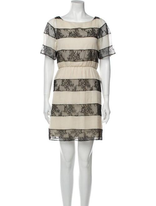 Alice + Olivia Striped Mini Dress