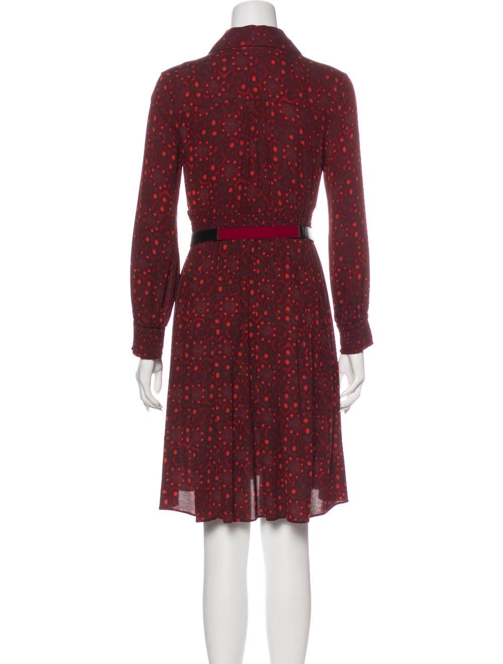 Alice + Olivia Silk Knee-Length Dress - image 3