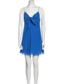 Alice + Olivia Silk Mini Dress