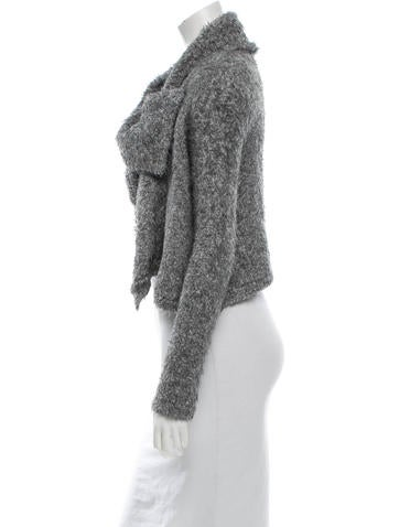 Cowl Neck Wrap Sweater