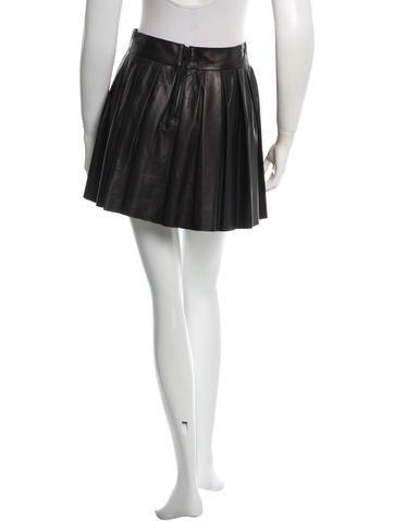 Leather Mini Skirt w/ Tags