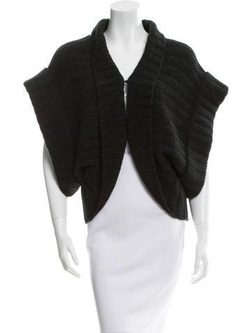 Alice + Olivia Wool Rib Knit Sweater None