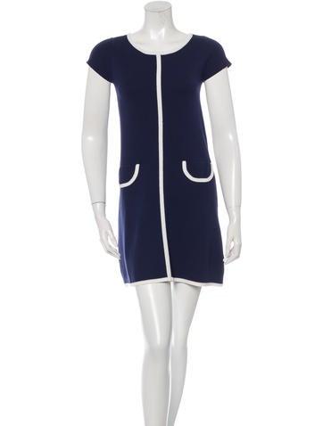 Alice + Olivia Knit Mini Dress None