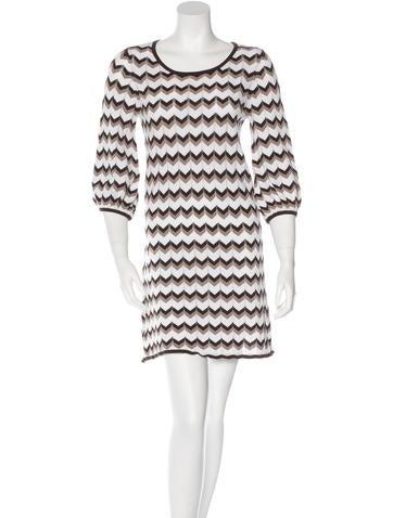Alice + Olivia Patterned Mini Dress None
