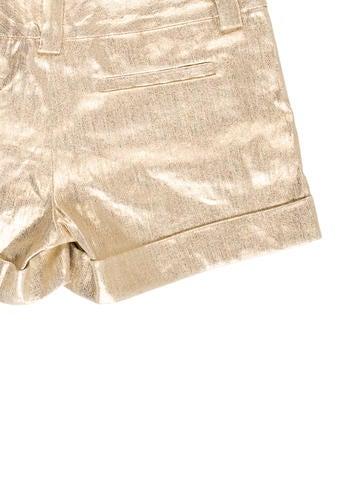 Metallic Mini Shorts w/ Tags
