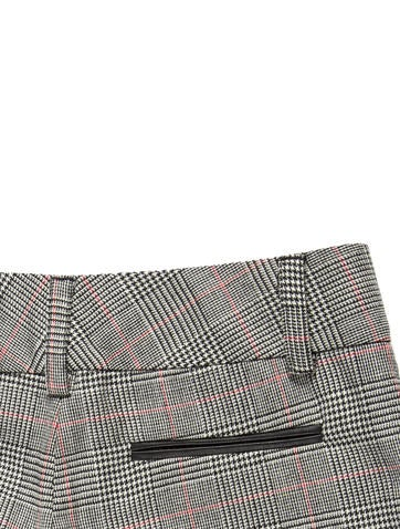 Houndstooth Mixed Print Shorts w/ Tags