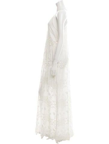 Crochet Maxi Dress w/ Tags