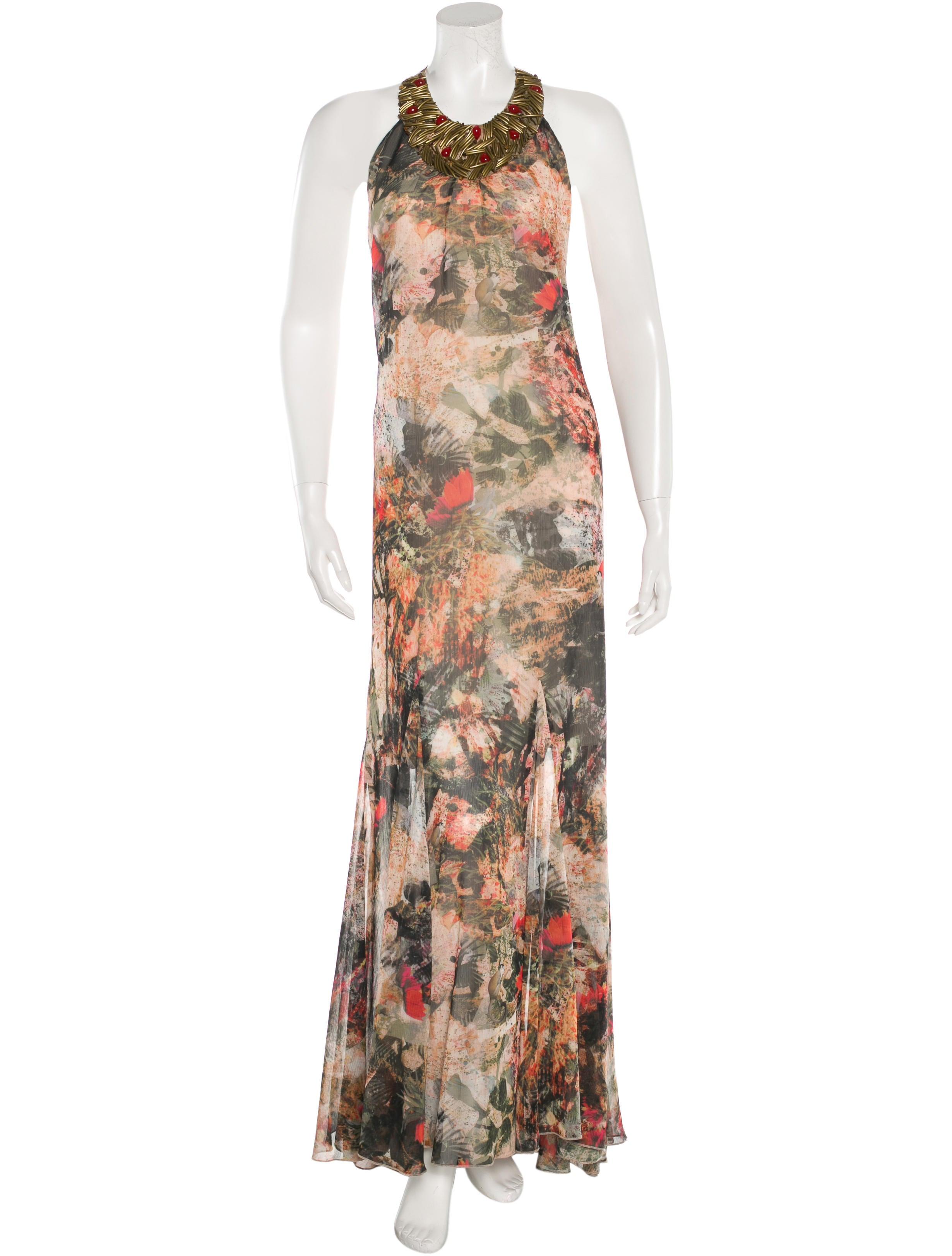 bead embellished evening dress clothing