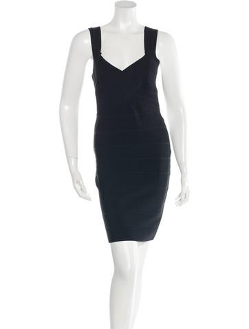 Alice + Olivia Rib Knit Bodycon Dress None