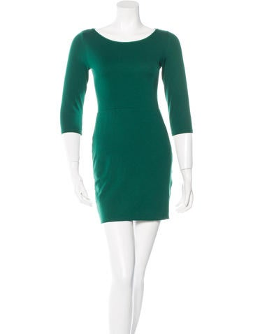 Alice + Olivia Cut Out Sheath Dress