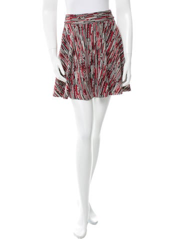 Alice + Olivia Rib Knitted Mini Skirt w/ Tags None
