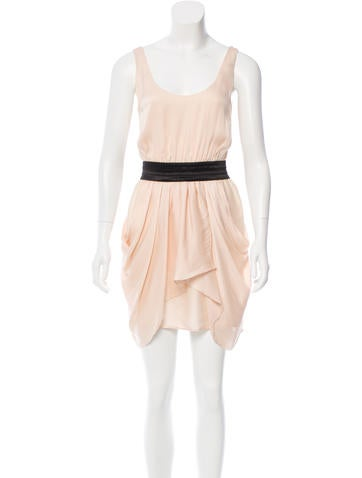 Alice + Olivia Silk Sleeveless Dress
