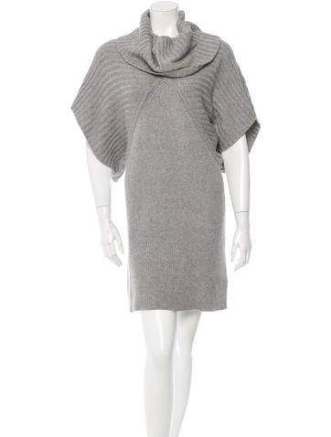 Alice + Olivia Silk-Blend Knit Dress None