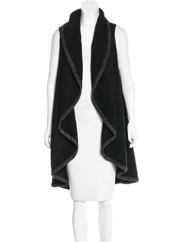 Alice + Olivia Sleeveless Knit Cardigan w/ Tags None