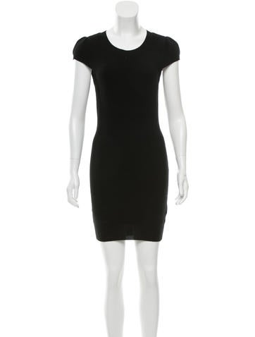 Alice + Olivia Merino Wool Sweater Dress None