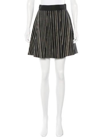 Alice + Olivia Striped Mini Skirt w/ Tags!