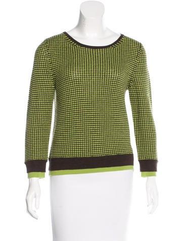Alice + Olivia Wool Long Sleeve Sweater None