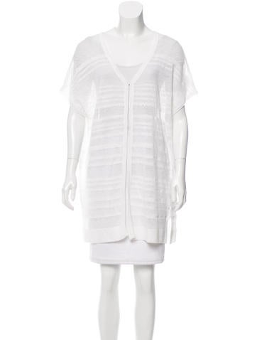 Alice + Olivia Open Knit Linen Cardigan w/ Tags None
