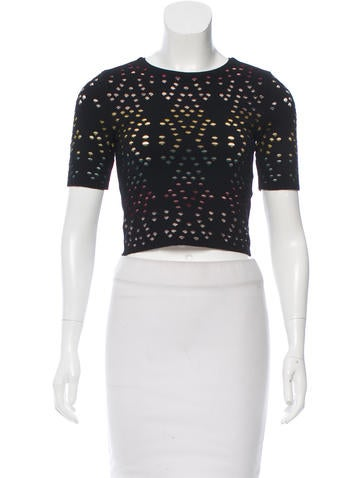 Alice + Olivia Cutout Crop Top w/ Tags None