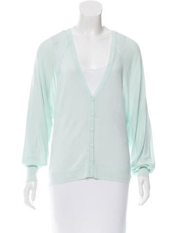 Alice + Olivia Button-Up Knit Cardigan w/ Tags None
