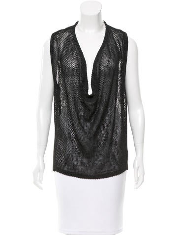 Alice + Olivia Cowl Neck Knit Top None