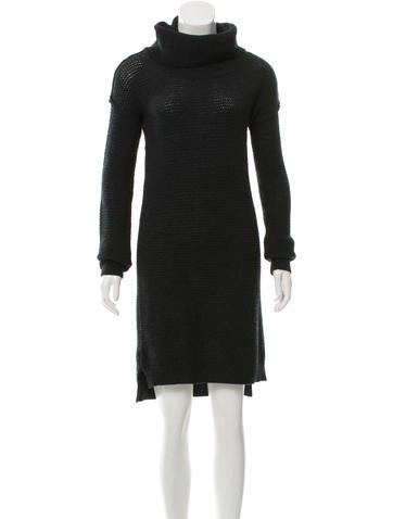 Alice + Olivia Wool Sweater Dress None