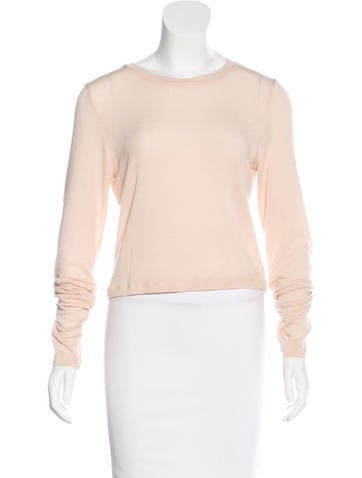 Alice + Olivia Sheer Knit Top w/ Tags None