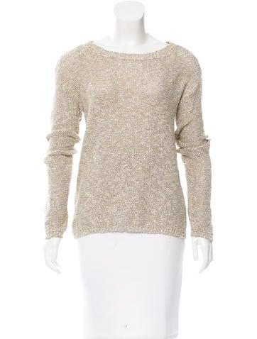 Alice + Olivia Metallic Knit Sweater w/ Tags None
