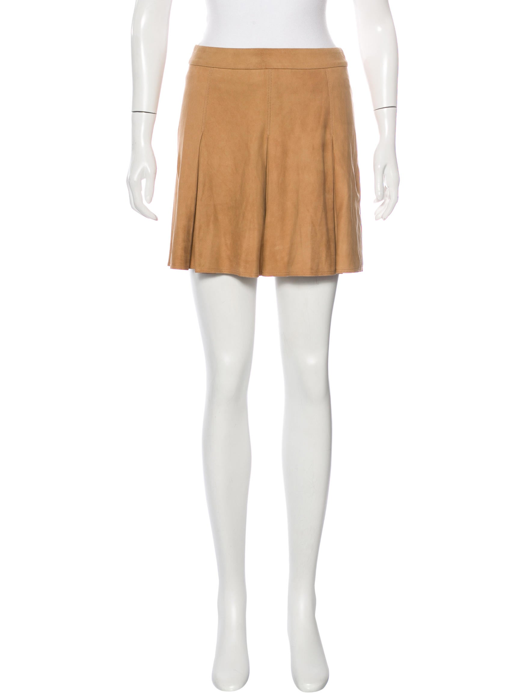 suede a line skirt w tags clothing