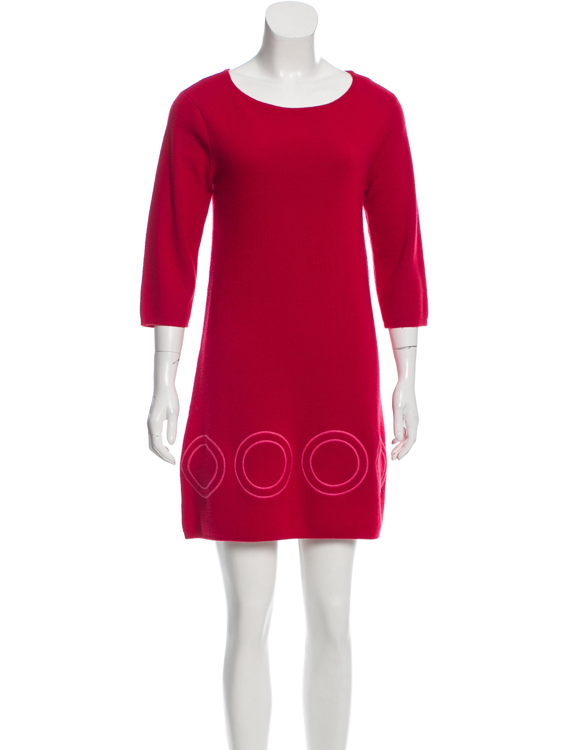 Alice + Olivia Wool Sweater Dress - Clothing - WAO49138 | The RealReal