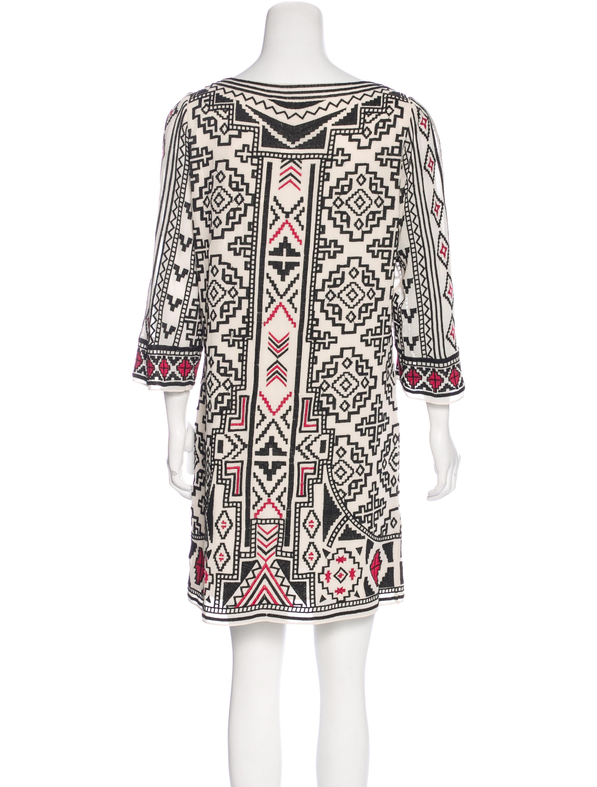 Alice olivia embroidered shift dress w tags clothing